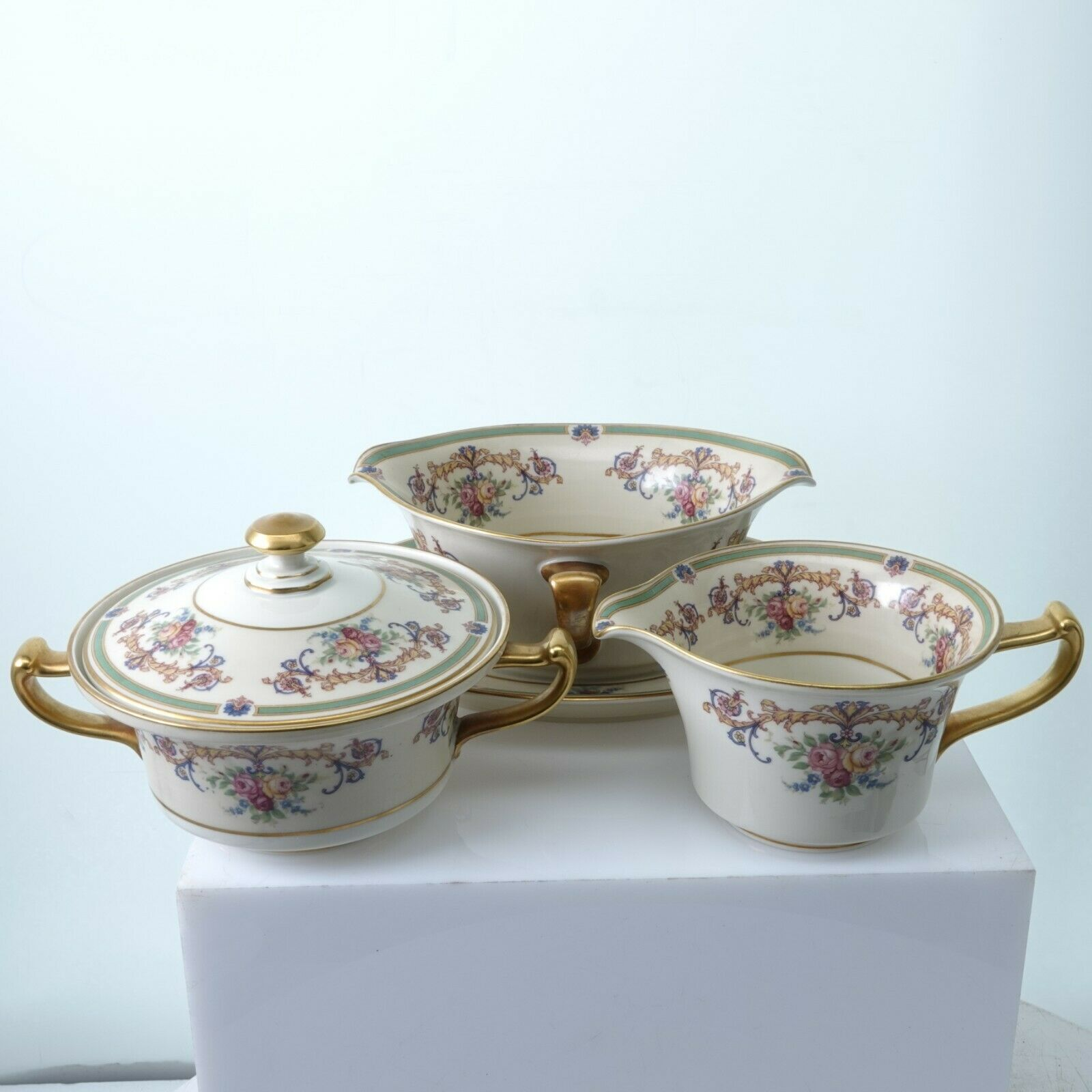 Primary image for Rosenthal WESTBURY Creamer Sugar and Gravy Boat