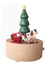 Christmas Tree Music Box With Round Base, Perfect Christmas Gift for Kids - $69.18