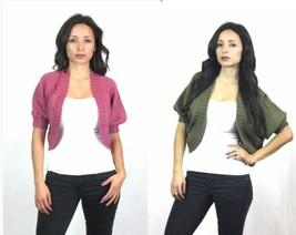 NEW Anthropologie Tulle Open Shrug Knit Cardigan Short Sweater Top $60 retail - $16.00