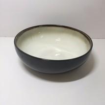 "Round Vegetable Serving Bowl Nova Black Sango 8.75"" - $19.34"