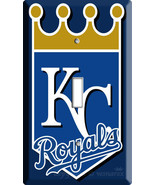 NEW KANSAS CITY ROYALS KC BASEBALL MLB CHAMPIONS SINGLE SWITCH WALL PLAT... - $8.99