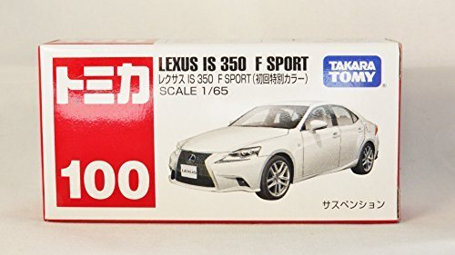 TAKARA TOMY TOMICA Street Car JAPAN LEXUS IS 350 F SPORT 100 Initial Version WHT