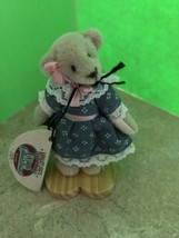 Ganz Cottage Collectibles Miniatures Teddy Bear ~ Sue ~ MWT & Stand Lynd... - $12.99
