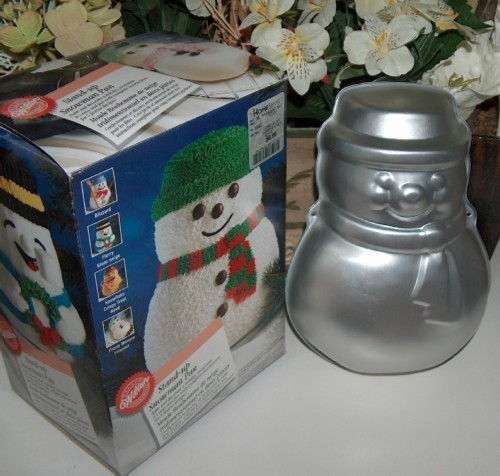 Wilton stand up snowman pan 2105 047