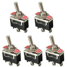 5 X Heavy Duty 20A 125V 250V 15A SPDT 3Pin ON/ON Rocker Toggle Switch - $9.13