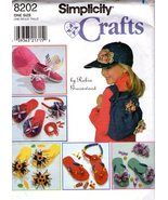 Simplicity Crafts Pattern 8202 - Backpack, Hat & Decorations - $9.99