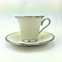 Moonspun by Lenox: Footed Cup & Saucer Set - $24.95