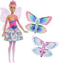 Barbie Dreamtopia Rainbow Cove Flying Wings Fairy Doll - $63.97
