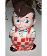 Big Boy Restaurant Rubber Savings Bank Doll - $19.99