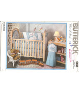 Butterick 4495 Sewing Pattern Crib Quilt Bumper Baby Items - $5.00