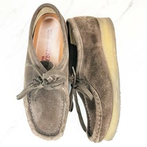 Clark's Women's 6.5 Originals Wallabee Brown Low Top Suede Shoes - $22.08