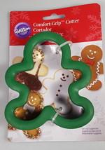Gingerbread Man Cookie Cutter WILTON comfort grip Christmas cookies baki... - $32.23 CAD