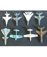 Eight Different Cut & Glue Paper Airplane Model Glider Kits - $19.75