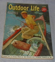 Hunt Fish Outdoor Life Magazine June 1955 John Newton Howitt - $7.00