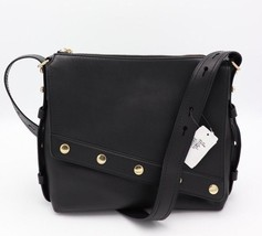 NWT Marc Jacobs Downtown Studded Black Leather Shoulder Crossbody Bag New - ₹20,931.44 INR