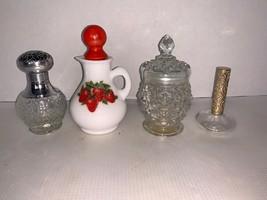 Lot Of 4 Vintage Avon Bottles - Empty - $10.00