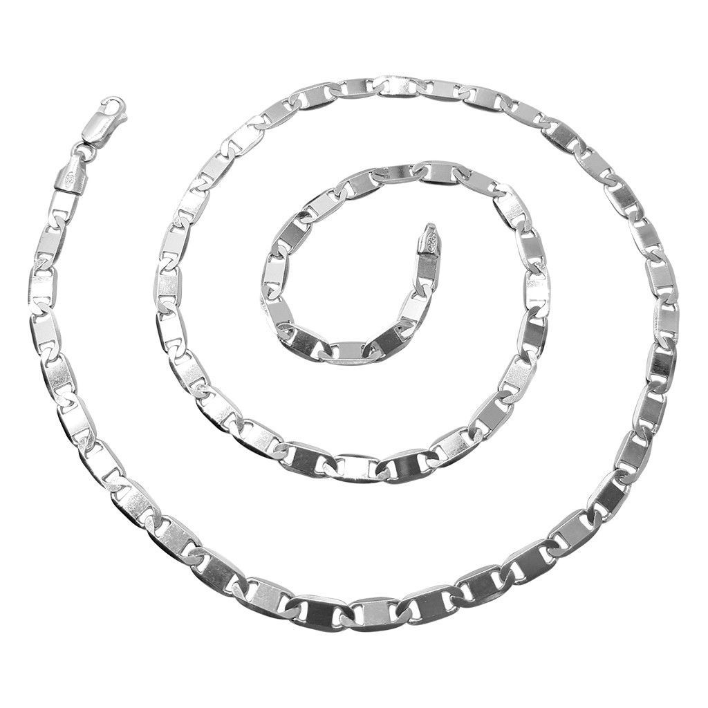 USA Seller Italian Anchor Chain Sterling Silver 925 Best Jewelry Gift 18 inches
