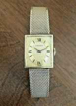 VTG LONGINES LADIES WATCH 10k GOLD FILLED SWISS, KESTINMADE 10K GF BRACELET - $247.50