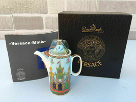 Versace by Rosenthal Porcelain The Voyage de Marco Polo Mini Coffee Make... - $49.50
