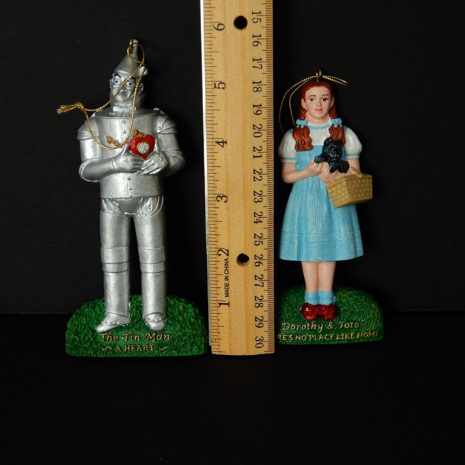 Kurt Adler Wizard Of Oz Christmas Ornaments Set Of 2