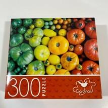 "CARDINAL 300 Piece Puzzle 14"" x 11"" RAINBOW OF VEGGIES - $10.35"