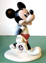 Lenox Disney Mousketeer Days with Mickey Mouse club Figurine New In Box - £60.53 GBP
