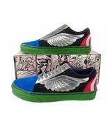 Vans Avengers Old Skool Sneaker Hulk Captain America Thor Iron Man Marve... - $64.95
