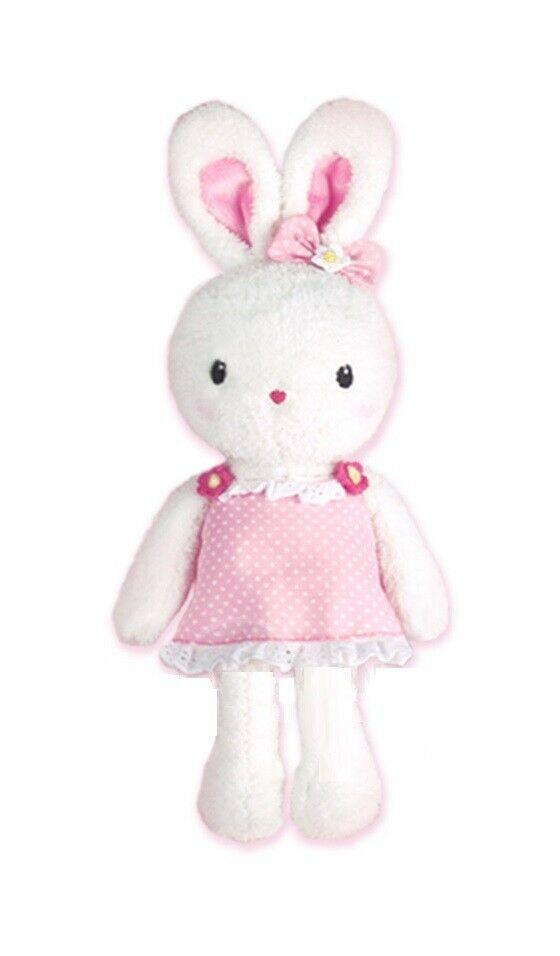 Konggi Rabbit Soft Plush Stuffed Animal Rabbit Attachment Doll Toy 13 inches