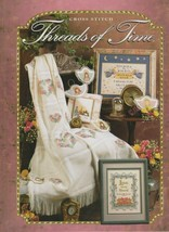 """Hard Covered Book - """"Threads of Time"""" - The Needlecraft Shop - Gently Used - $18.00"""