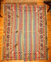 1850 antique BALTIMORE MD COVERLET, BENEDICT KISSNER ziegler/cissel estate - $899.99