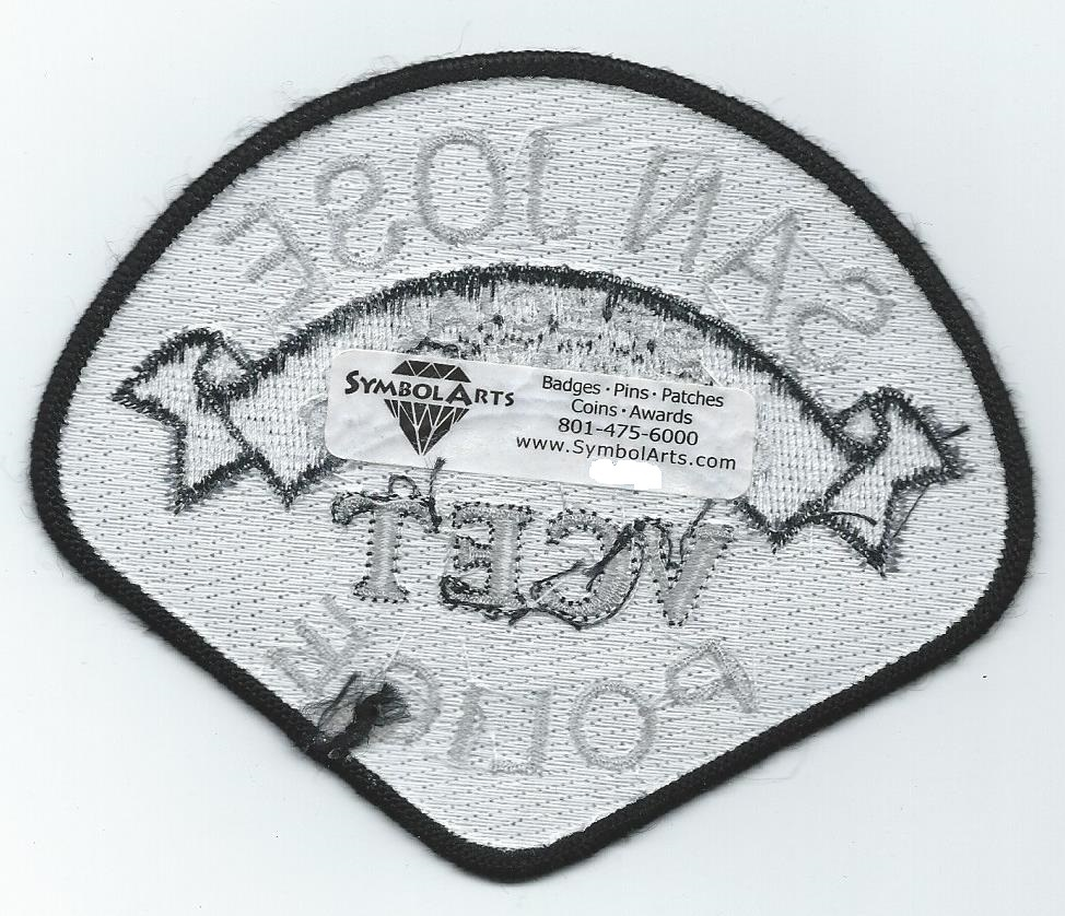 San Jose California, Police patch, Special and similar items