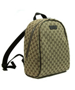 NEW/AUTHENTIC GUCCI 449906 Canvas GG Guccissima Travel Backpack - $1,396.90
