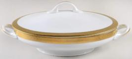 Haviland Limoges Valencay Oval Covered Vegetable Bowl Serving Dish - $296.99