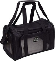 Pet Carrier Bag for Dogs and Cats, Carrier Bag for Small Dogs and (Black... - $48.16