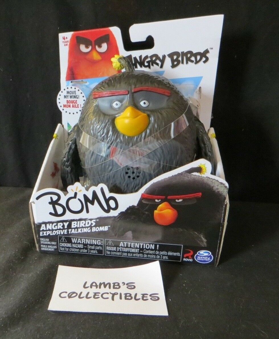 "Primary image for Bomb Angry Birds Explosive Talking Bomb 5"" Action figure Spin Master"