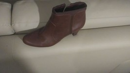 Easy Spirit Red Ankle Boots - $14.85