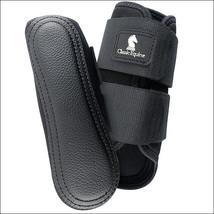 Large Classic Equine Airwave Splint Breathable Horse Leg Boots Pair Blac... - $39.59