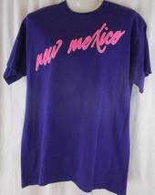 New Mexico Tourist Souvenir Purple T Shirt Size Medium - £7.19 GBP