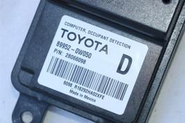 Lexus Toyota  Occupant Detection Sensor Module Computer 89952-0W050 image 2
