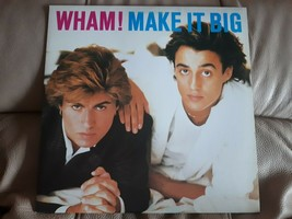 LP WHAM! MAKE IT BIG 1984 USED VINYL RECORD ALBUM CBS/COLUMBIA FC 39595 - $22.74