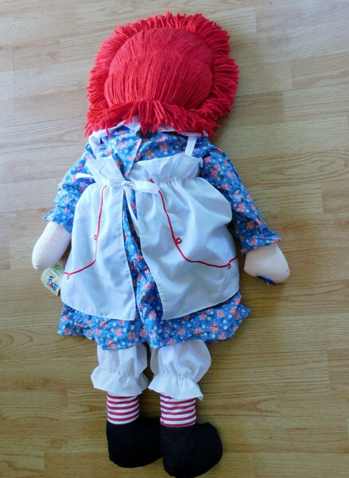 "(2) 36"" RAGGEDY ANN DOLLS with Hangtags Applause image 7"