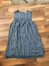 Forever 21 Women's Gray Rayon Sleeveless Short Sun Dress  / Tunic Size Small - $16.69