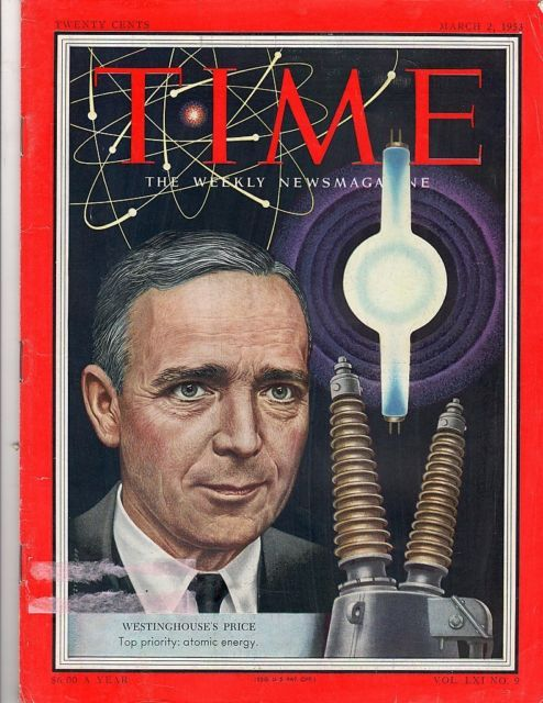 Primary image for Time Magazine 1953, March 2, Westinghouse's Price