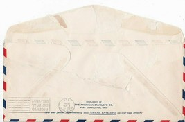 33rd ANNIVERSARY OF WRIGHT BROTHERS FIRST FLIGHT FLOWN MAIL DAYTON OH 12/17/1936 image 2