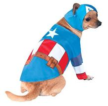 Rubie's Marvel Universe Captain America Pet Costume, Large - $8.88