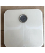 Fitbit FB201W Aria Wi-fi Smart Scale White for 20-350lbs Tested Working - $42.56
