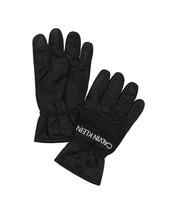 Calvin Klein Men's Nylon Mesh Tech Touchscreen Gloves in Black-Size L/XL - $23.99