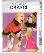 McCall's Crafts Pattern M5723 - Elegant Pet Coats (Small, Me - $6.29