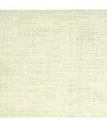 35ct Cream Northern Cross Linen 18x27 1/4yd 100% linen cross stitch fabric  - $13.70