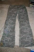 2 Pair Jeans Bongo & Arizona Jean Co. Camo Size 10 - $9.99